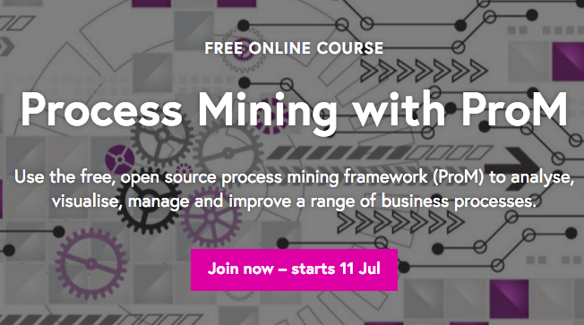 Process Mining MOOC with ProM