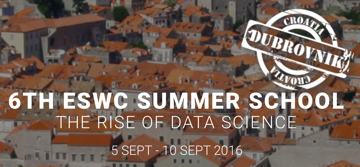 6th ESWC Summer School