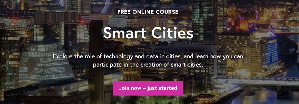 Smart Cities: New MOOC launched by the Open University